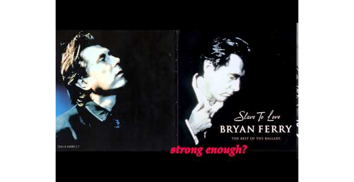 Bryan Ferry - Is Your Love Strong Enough? (w/ lyrics)