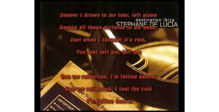 Stephane De Lucia - 1 Inch Deep (w/ lyrics)